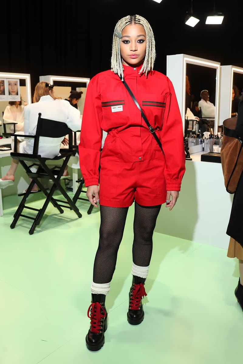 Celebrity Style Milan Fashion Week FW20 Amandla Stenberg Gucci