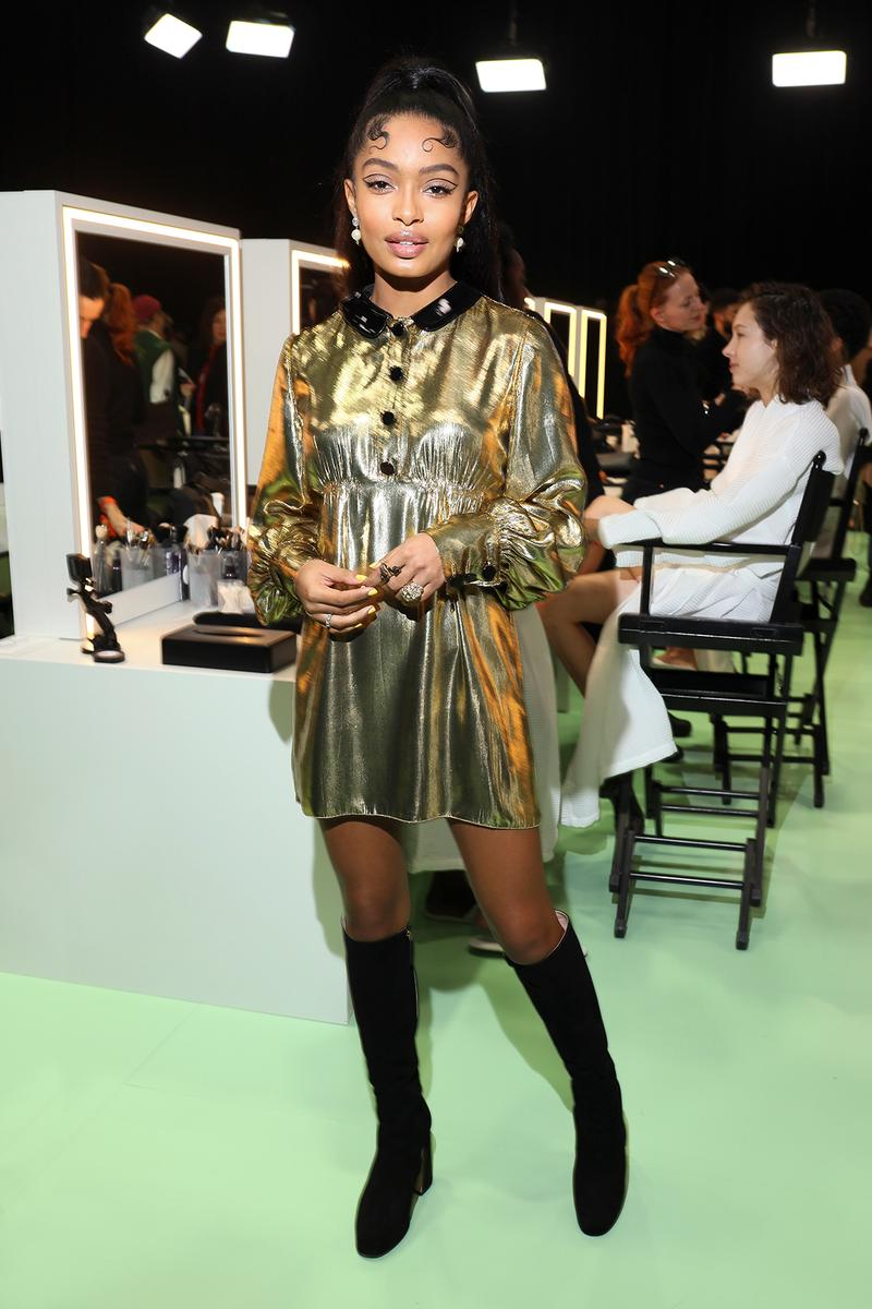 Celebrity Style Milan Fashion Week FW20 Yara Shahidi Gucci