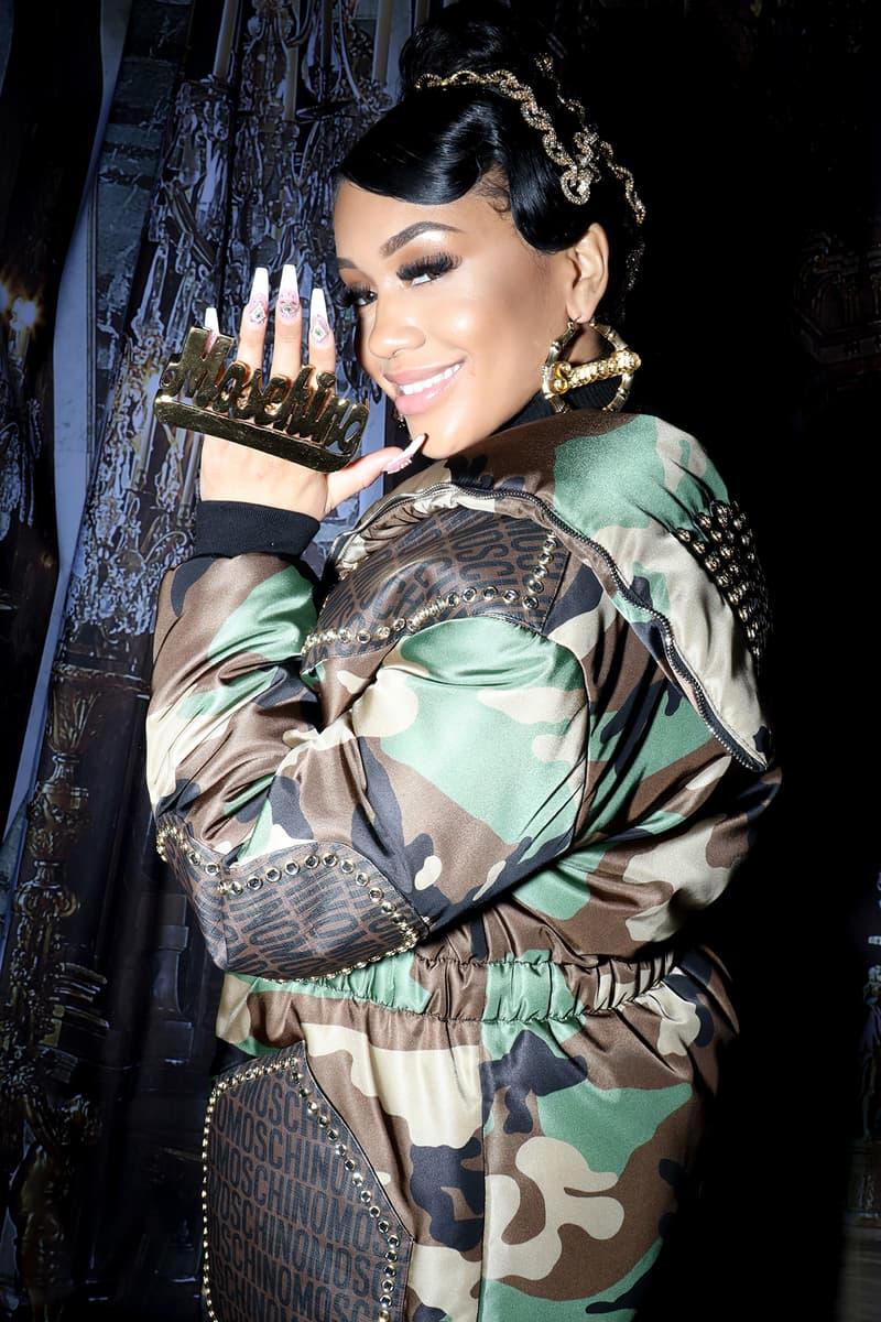 Celebrity Style Milan Fashion Week FW20 Saweetie Moschino