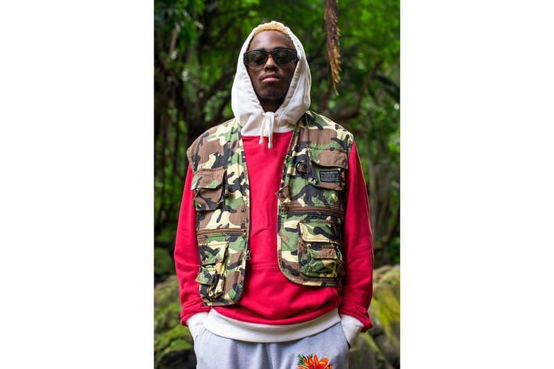 billionaire boys club pharrell williams spring summer collection lookbook military workwear streetwear