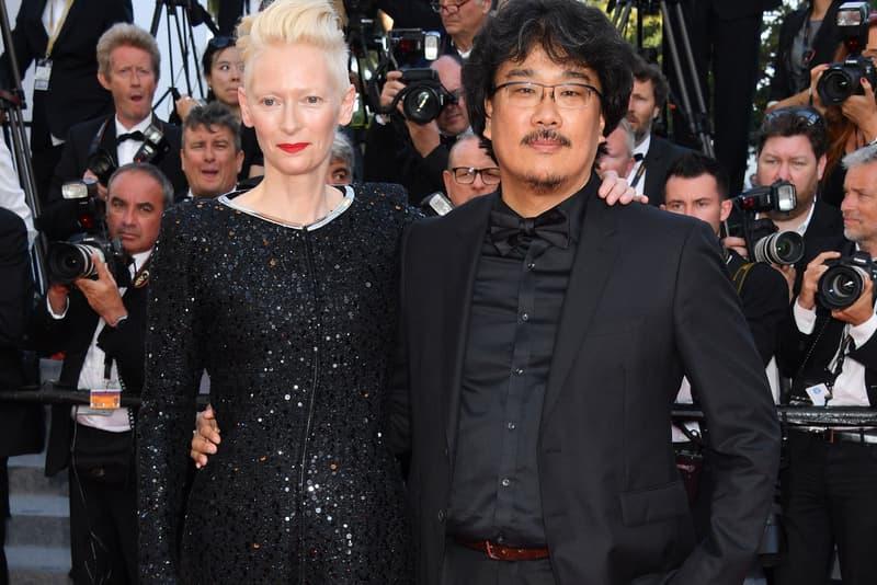 Tilda Swinton Bong Joon-Ho Cannes Film Festival 2017