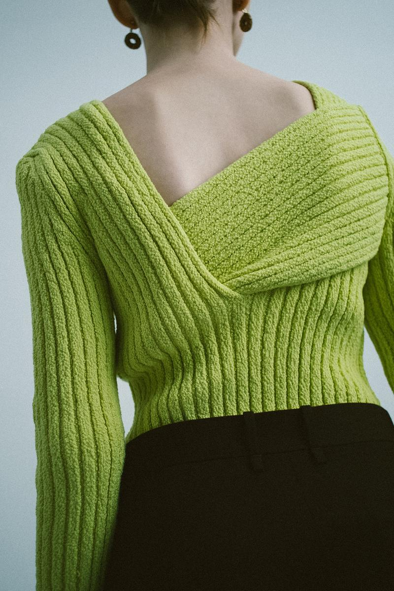 Bottega Veneta Spring/Summer 2020 Collection Textured Boucle Jumper