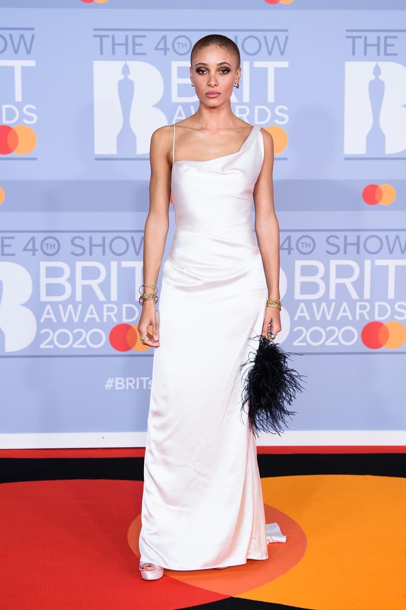 brit awards red carpet best dressed celebrities mabel billie eilish burberry moschino