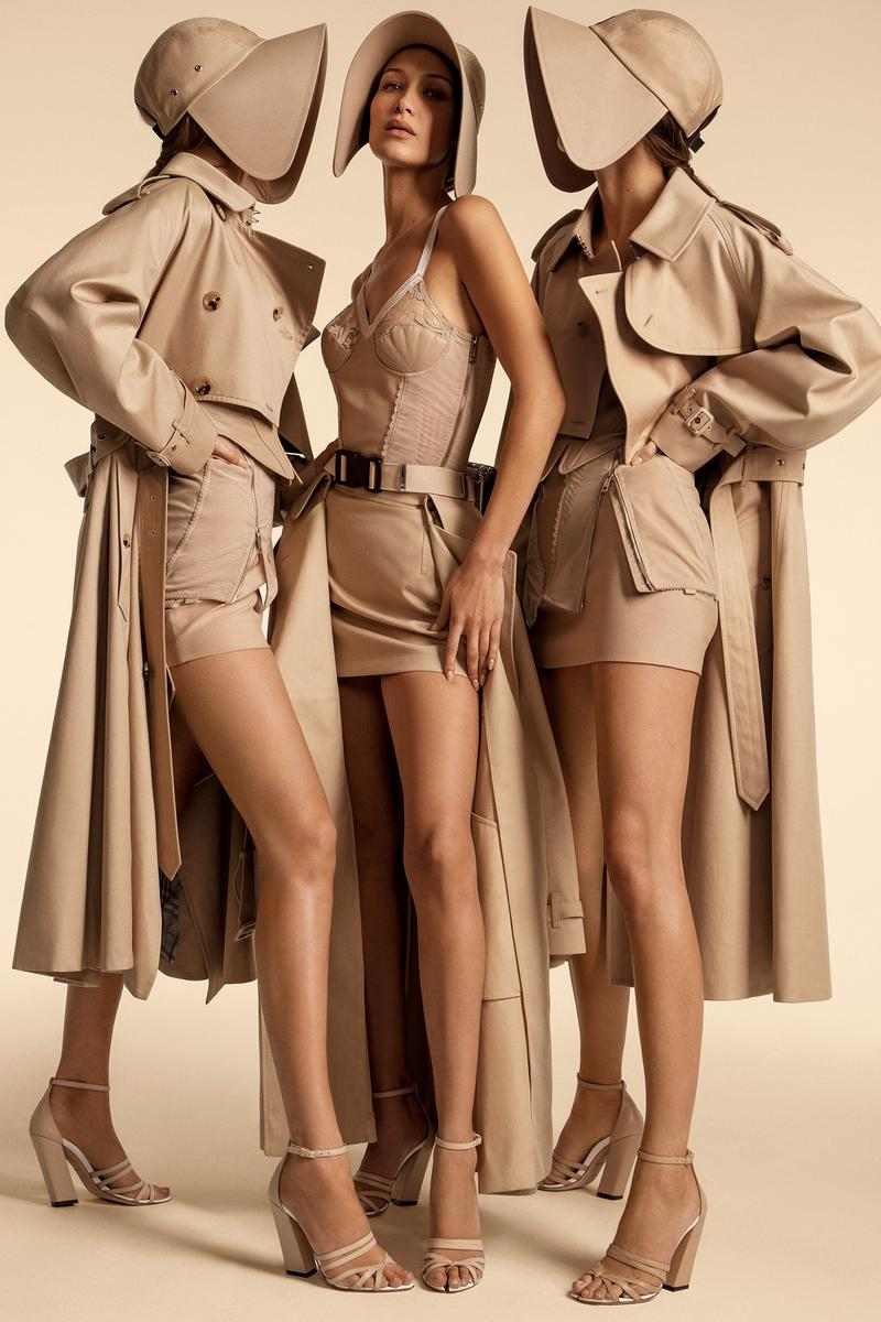 Burberry Spring/Summer 2020 Campaign Bella Hadid