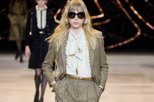 Picture of Hedi Slimane Serves up '70s-Inspired Rock at CELINE's FW20 Show