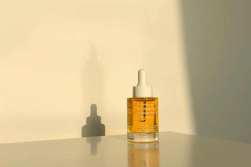 circumference pure balancing botanical face oil review new york skincare sustainable beauty