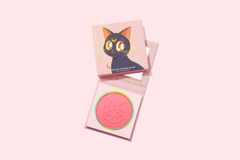 colourpop sailor moon collaboration eyeshadows lipsticks blushes makeup beauty cosmetics glitter pink