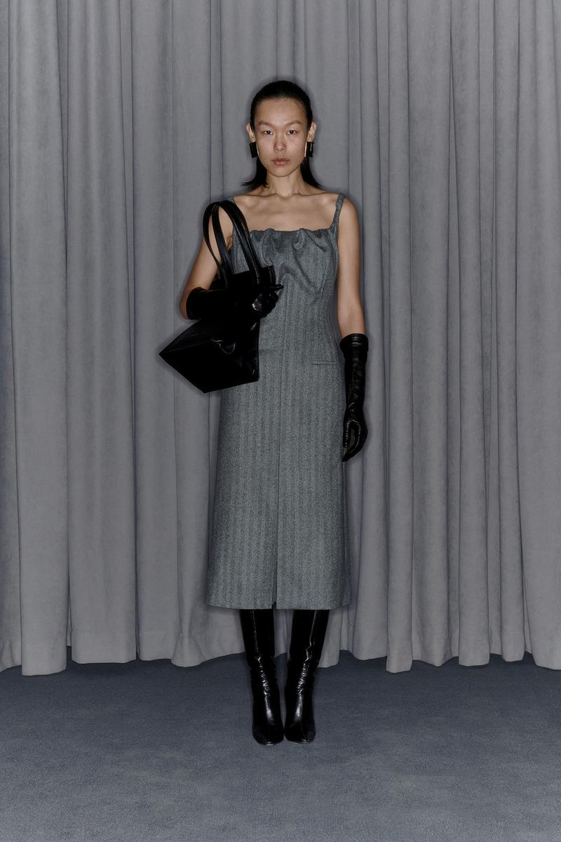 Commission Fall/Winter 2020 Collection Lookbook Tweed Dress