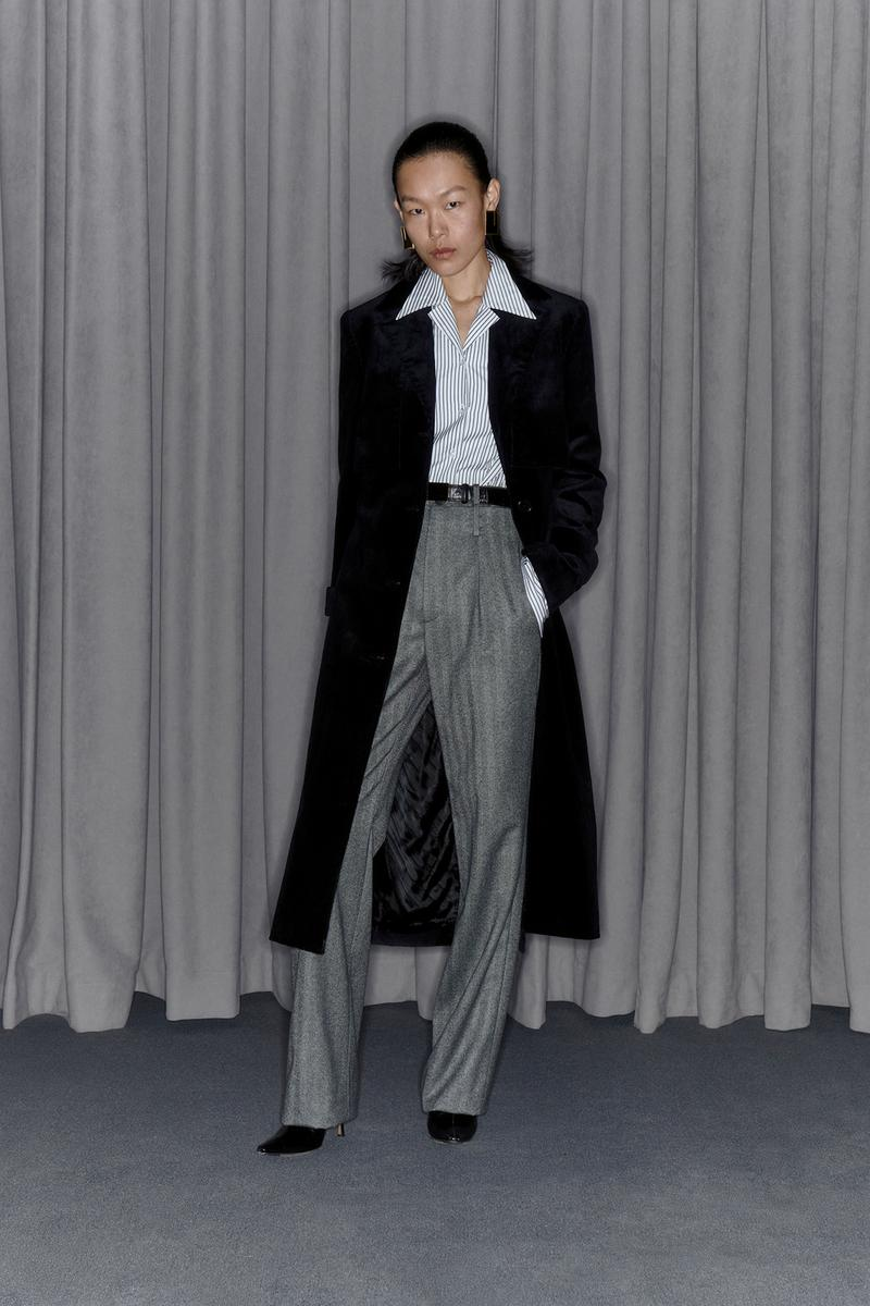 Commission Fall/Winter 2020 Collection Lookbook Button Down Trousers Coat