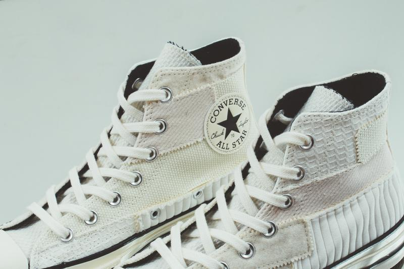 converse chuck 70 hi antique patchwork womens sneakers