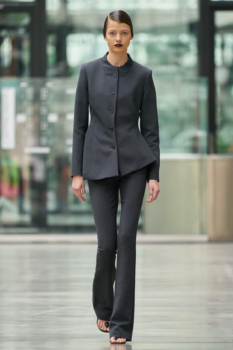 coperni sebastien meyer arnaud vaillant paris fashion week fall winter collection suit grey black
