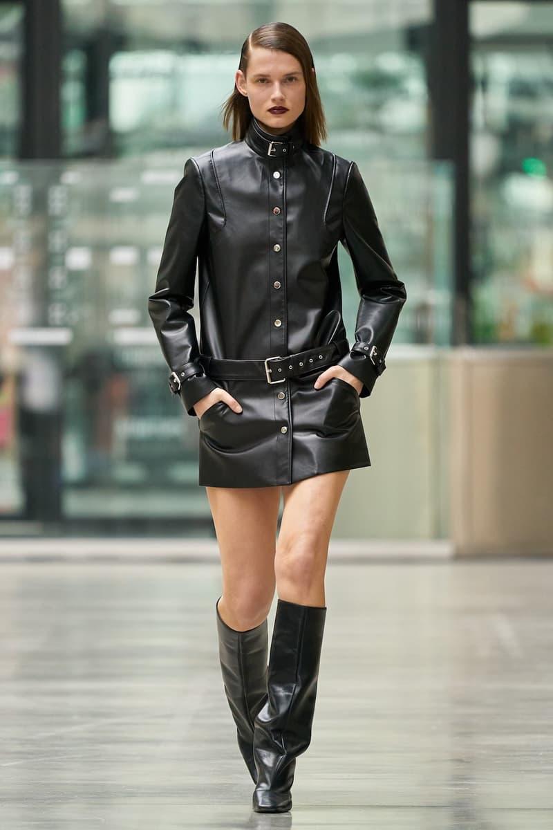 coperni sebastien meyer arnaud vaillant paris fashion week fall winter collection leather dress boots