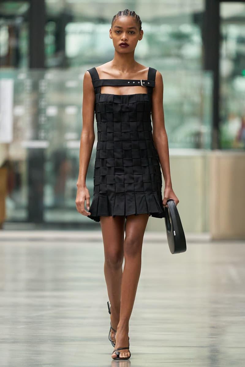 coperni sebastien meyer arnaud vaillant paris fashion week fall winter collection black dress bag