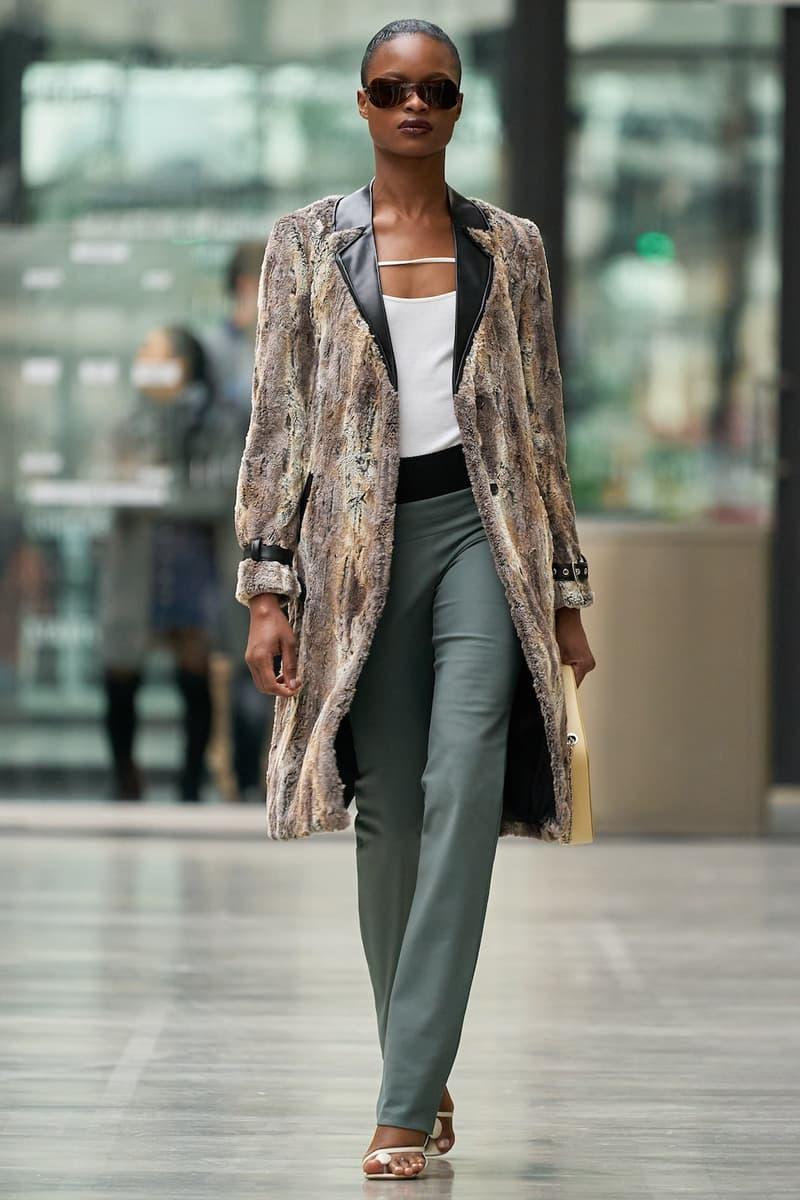 coperni sebastien meyer arnaud vaillant paris fashion week fall winter collection brown coat olive green pants