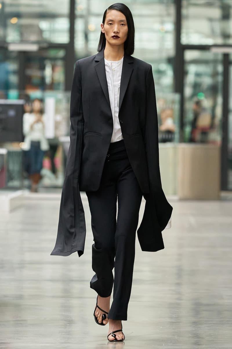 coperni sebastien meyer arnaud vaillant paris fashion week fall winter collection black jacket pants white top