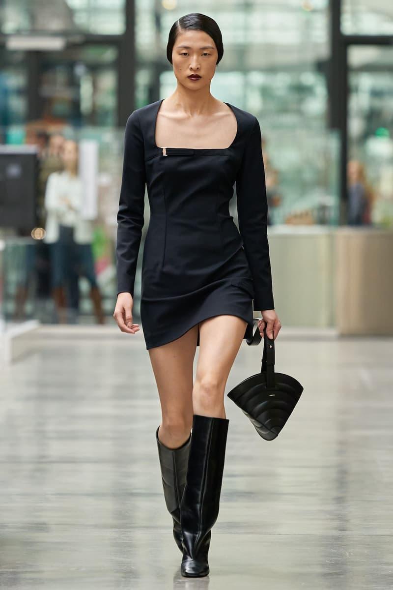 coperni sebastien meyer arnaud vaillant paris fashion week fall winter collection black dress boots bag