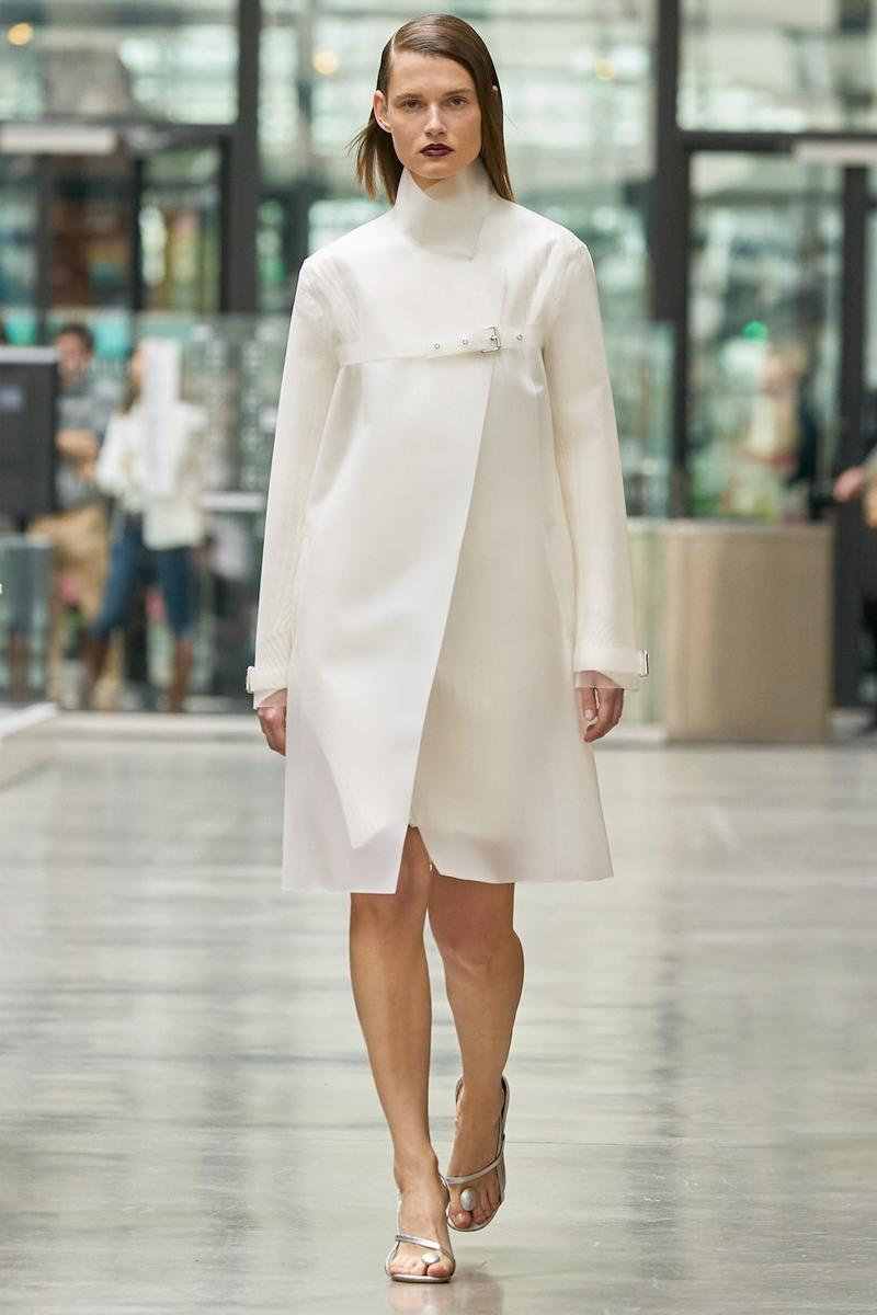 coperni sebastien meyer arnaud vaillant paris fashion week fall winter collection white long sleeve dress