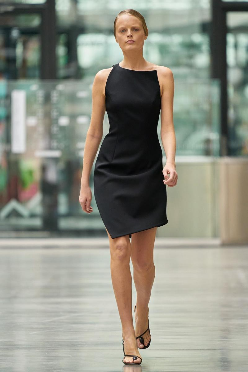 coperni sebastien meyer arnaud vaillant paris fashion week fall winter collection black dress heels
