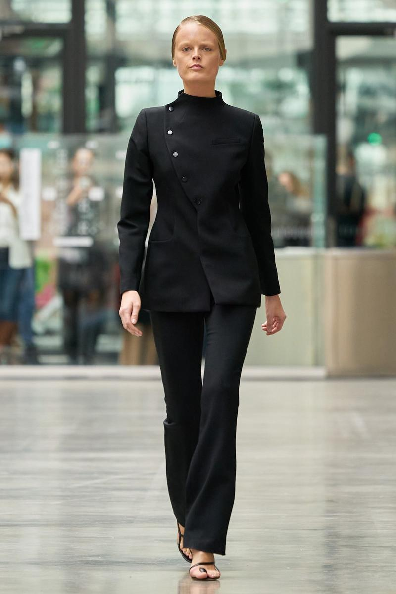 coperni sebastien meyer arnaud vaillant paris fashion week fall winter collection black jacket pants
