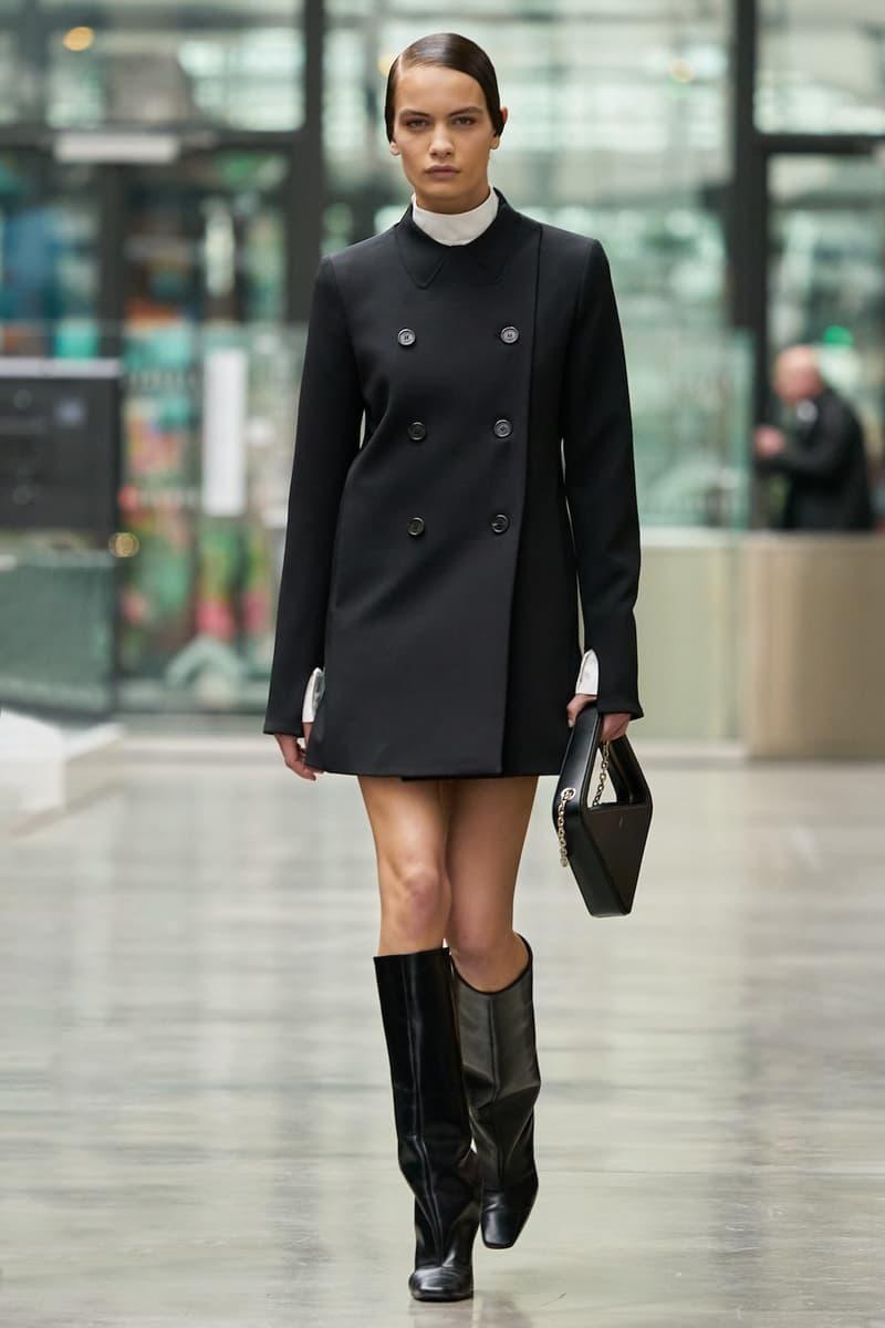 coperni sebastien meyer arnaud vaillant paris fashion week fall winter collection dress boots black bag
