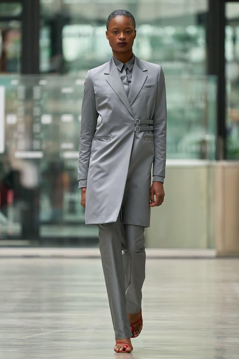 coperni sebastien meyer arnaud vaillant paris fashion week fall winter collection grey coat pants