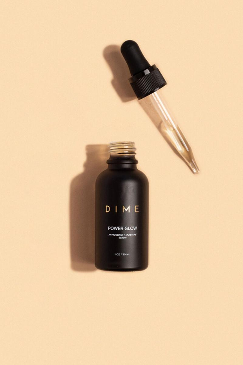 dime beauty clean sustainable luxury skincare line glow serum