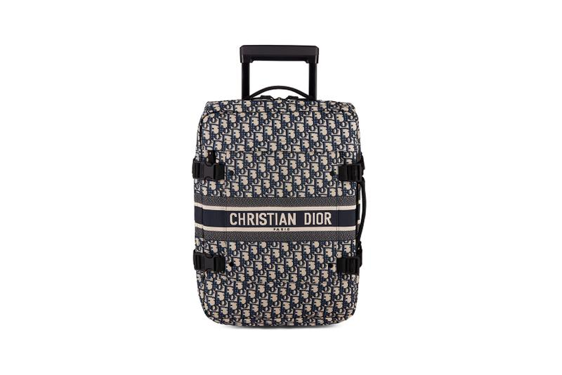 dior diortravel collection backpacks suitcases luggages maria grazia chiuri