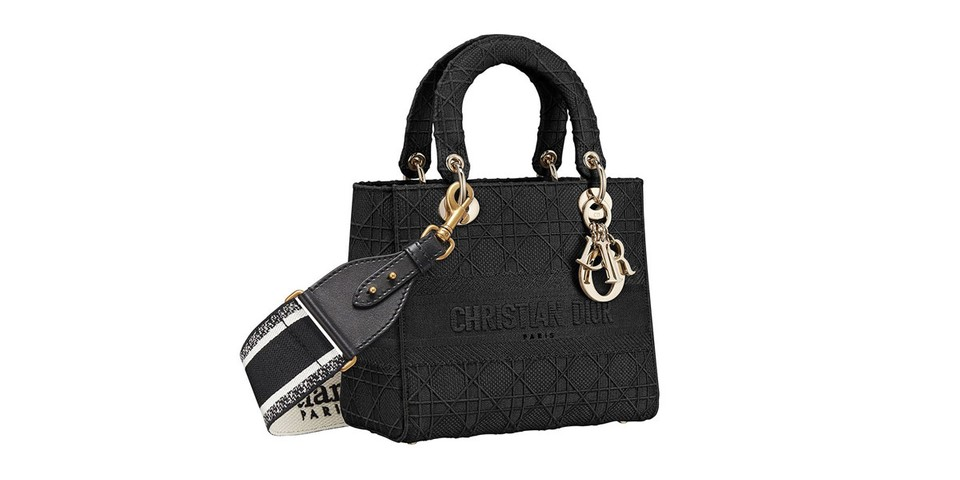 """Dior Introduces Casual """"D-Lite"""" Version of Lady Bag"""