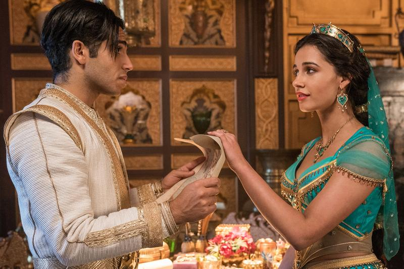disney aladdin live action remake reboot sequel movies naomi scott mena massoud princess jasmine