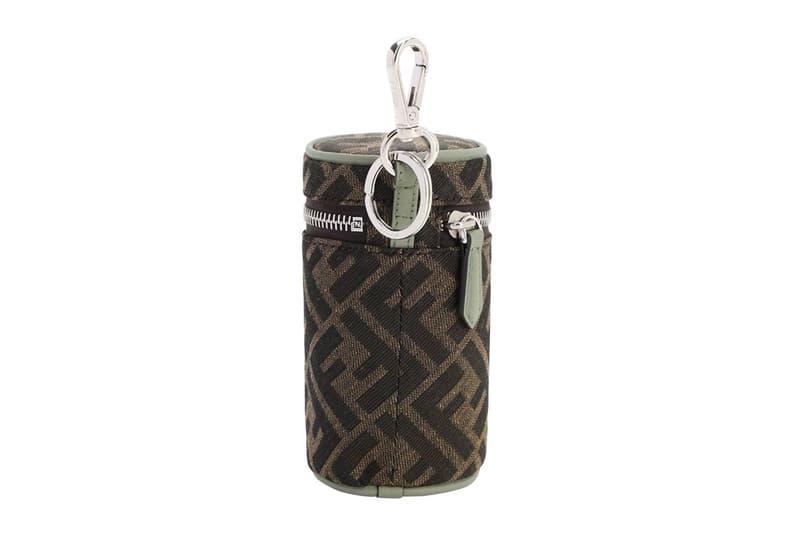 Fendi Logo Monogram Can Holder Bag Clip