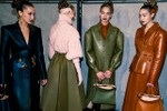 Picture of Fendi Explores the Duality of Soft and Strong Femininity at FW20 Show