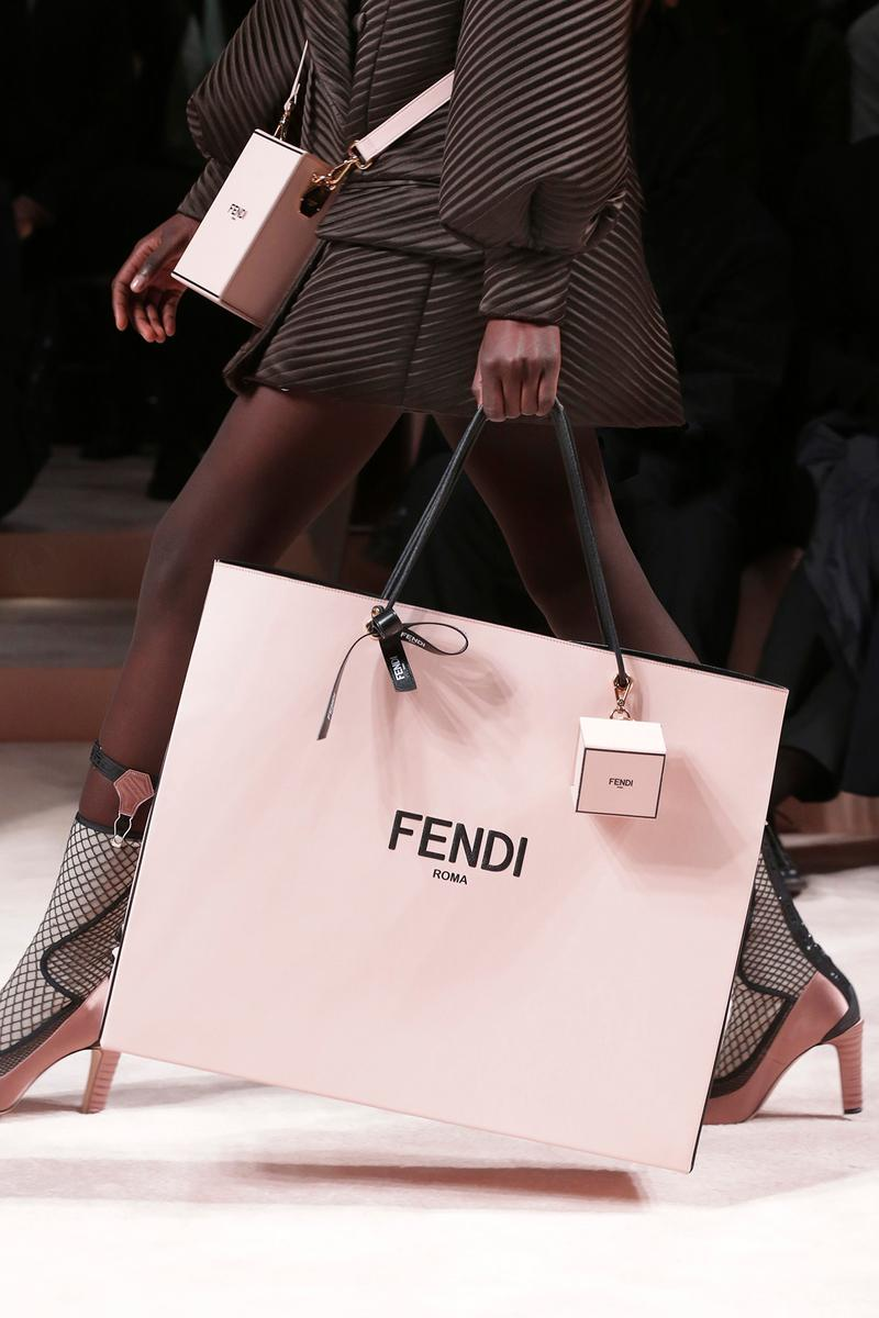 Fendi Fall/Winter 2020 Collection Bags Accessories Shopping Bag Box