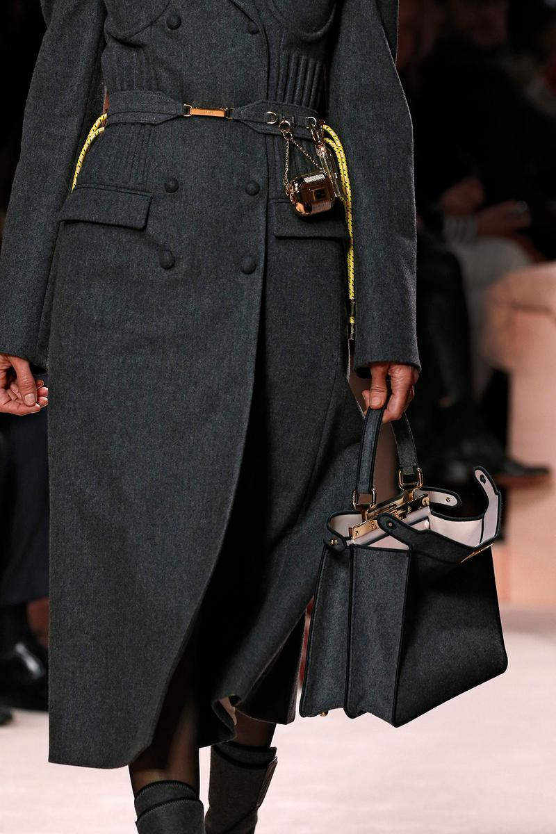 Fendi Fall/Winter 2020 Collection Bags Accessories Peekaboo