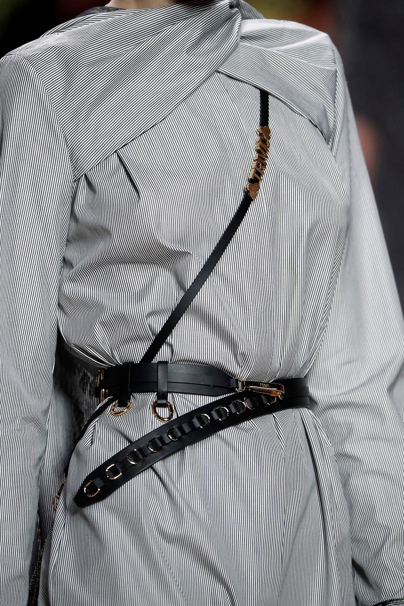 Fendi Fall/Winter 2020 Collection Bags Accessories Chaos Harness Belt
