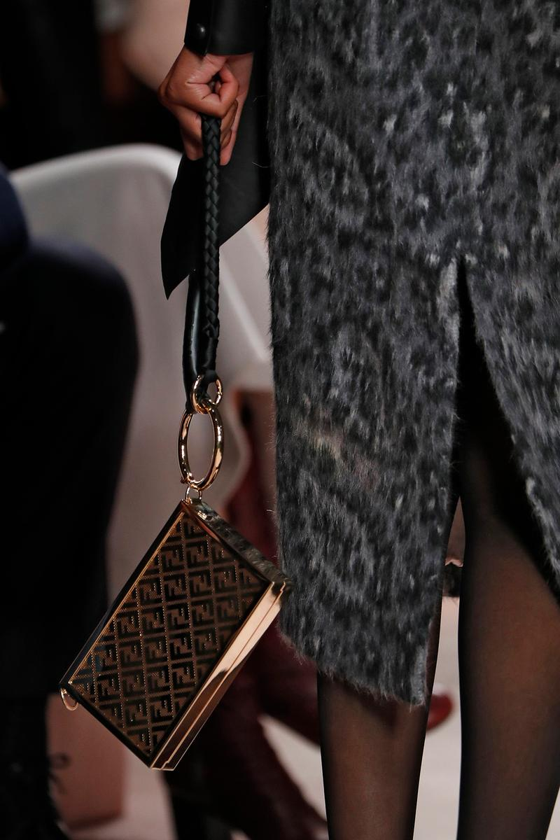 Fendi Fall/Winter 2020 Collection Bags Accessories Clutch Box