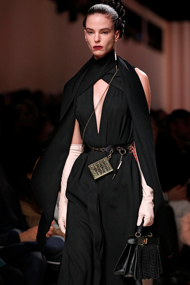 Fendi Fall/Winter 2020 Collection Bags Accessories Chaos Belt