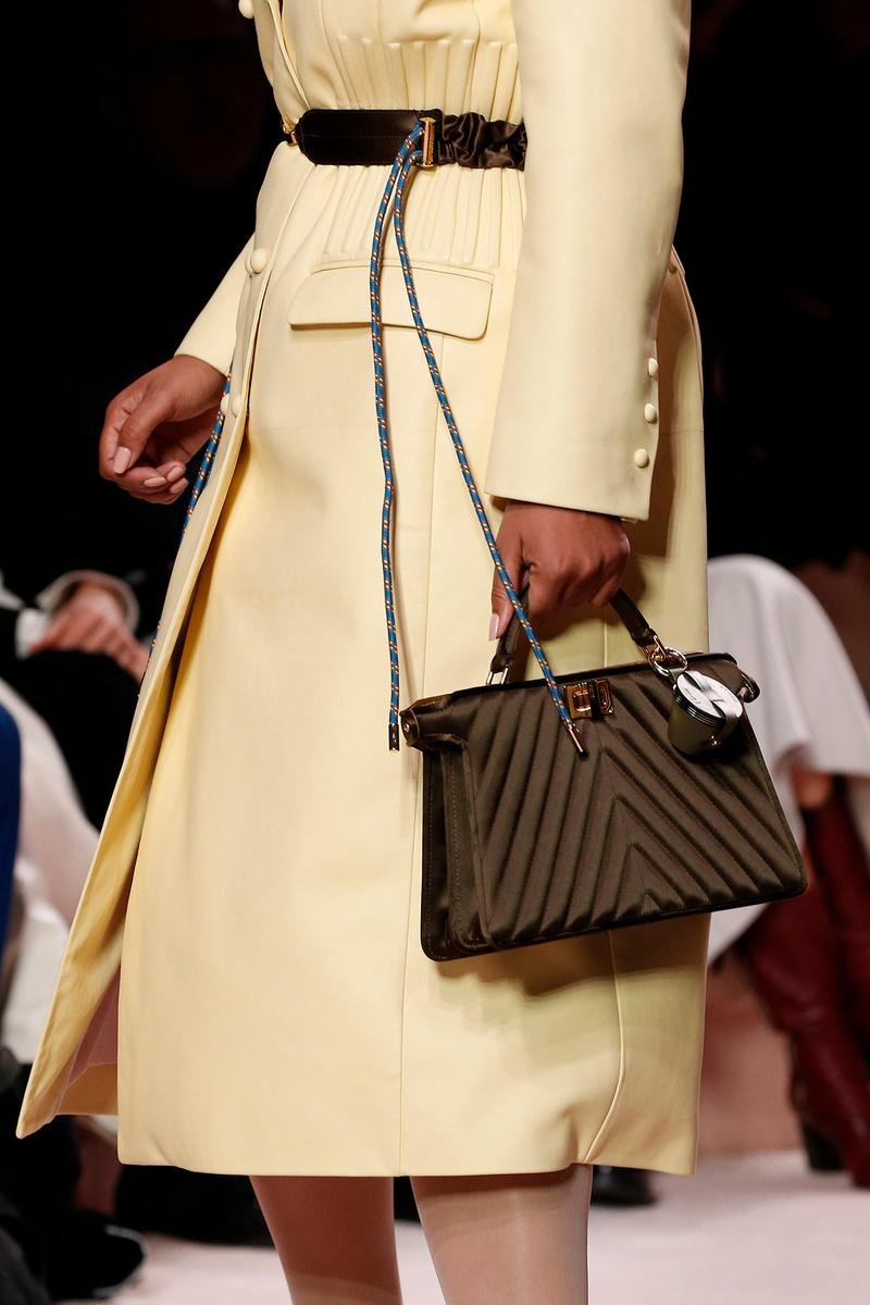 Fendi Fall/Winter 2020 Collection Bags Accessories Top Handle Strap
