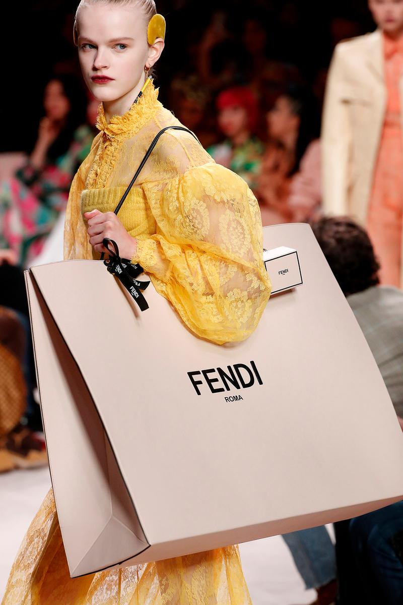 Fendi Fall/Winter 2020 Collection Bags Accessories Shopping Bag