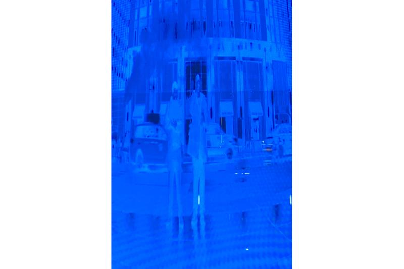 fenty rihanna bergdorf goodman pop up store jed skrzypczak digital art installation