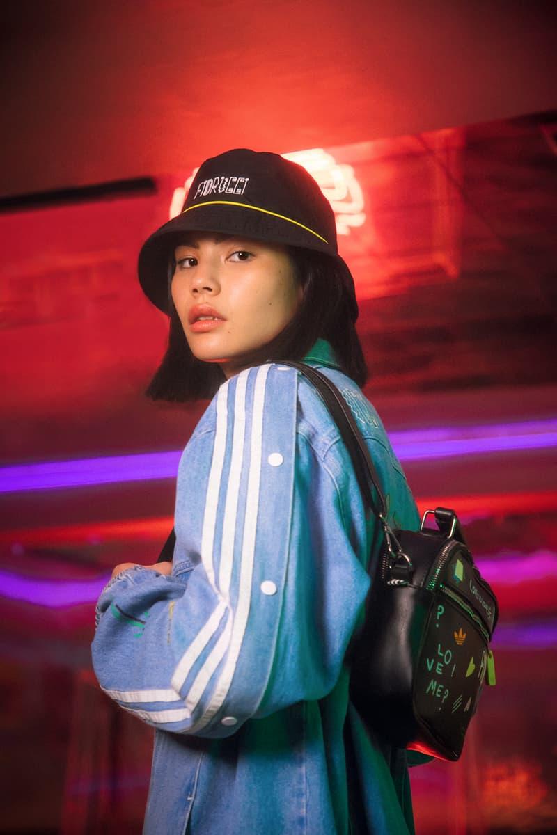 Fiorucci x adidas Originals Collection Backpack Bucket Hat Black