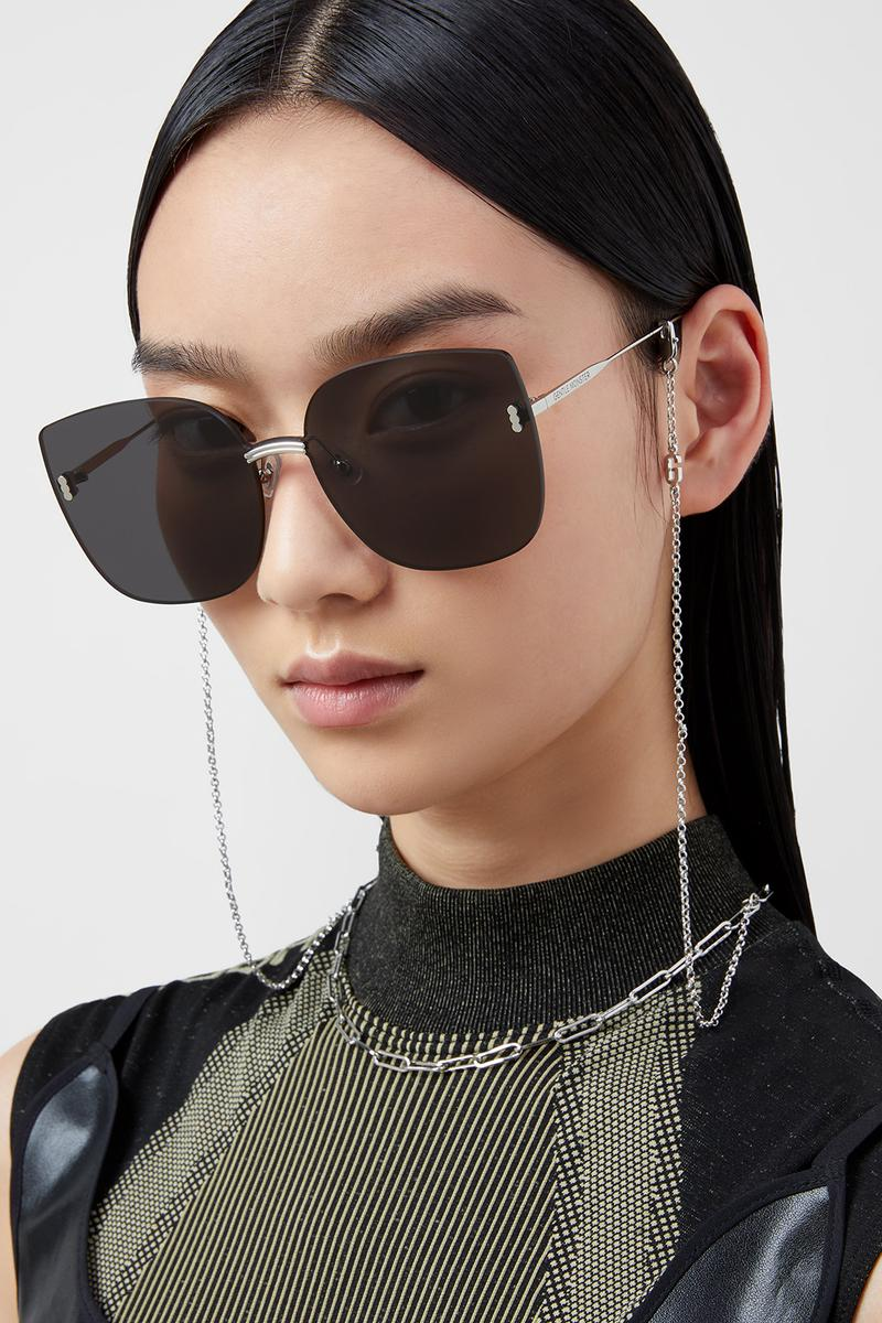 gentle monster eyewear accessories sunglasses shades glasses chains black gold