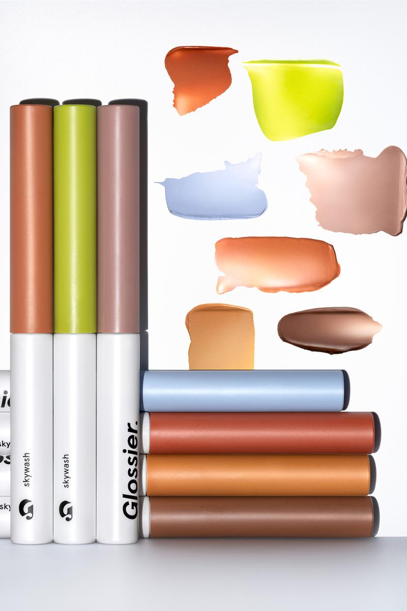 Glossier Skywash Eyeshadow Tint Makeup Products Shades