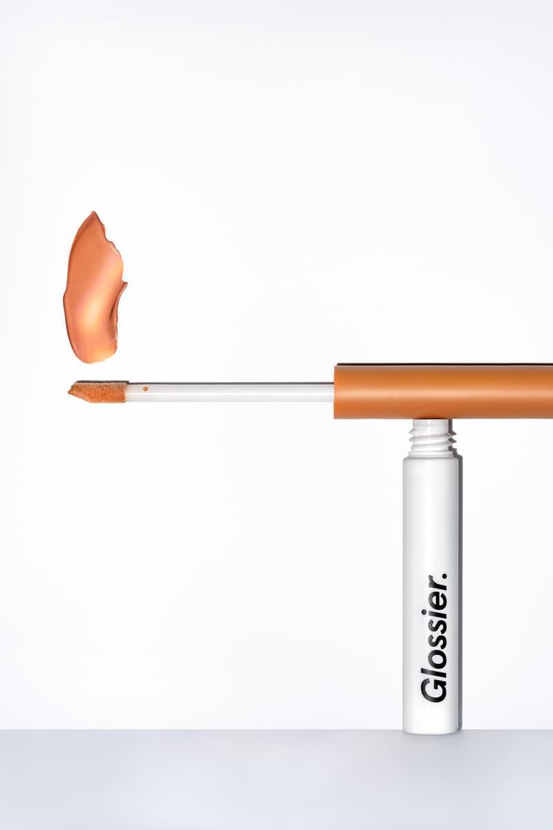 Glossier Skywash Eyeshadow Tint Makeup Product Shade Orange Brown