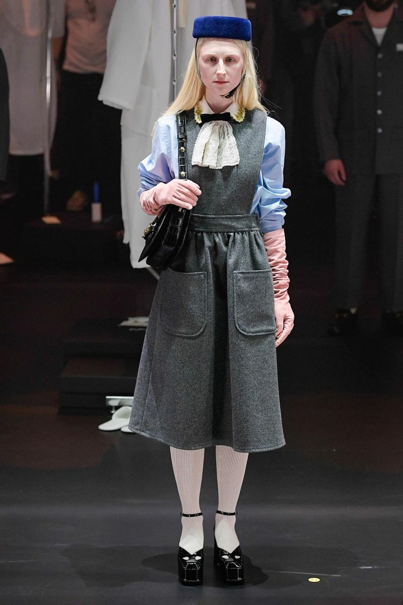 Gucci Fall/Winter 2020 Collection Runway Show Dress Pinafore