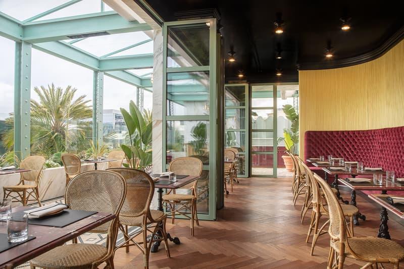 Gucci Osteria Restaurant Beverly Hills Los Angeles Interior Design