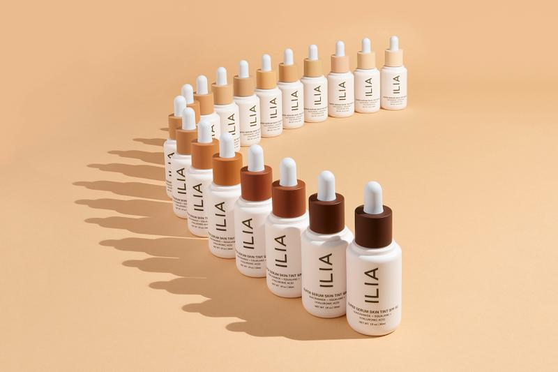 ilia beauty super serum skin tint spf 40 makeup skincare vegan