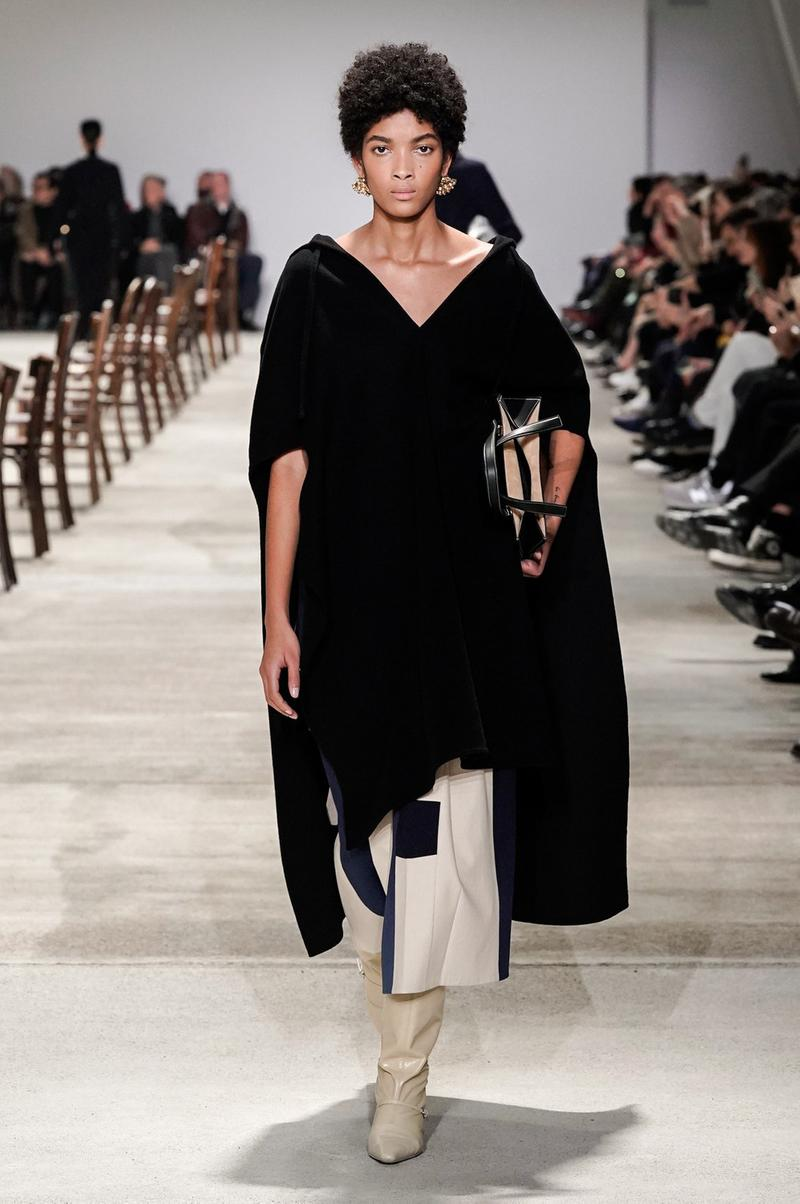 Jil Sander Fall/Winter 2020 Collection Runway Show Tunic Black