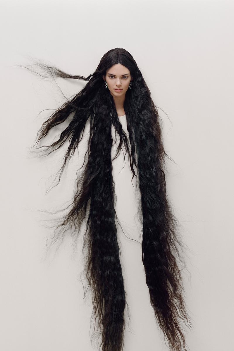 Kendall Jenner Maurizio Cattelan GARAGE Magazine Cover Editorial Artworks