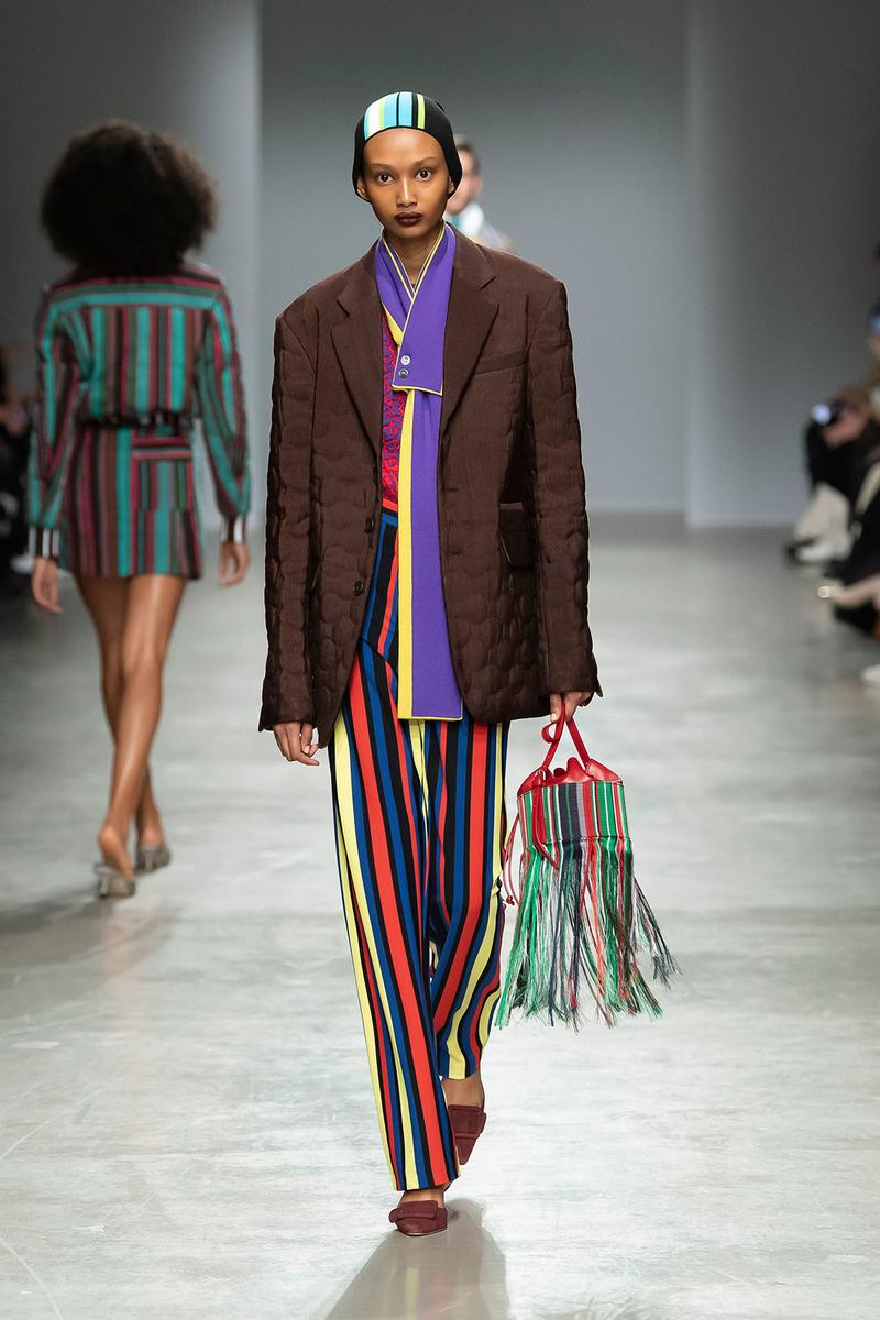 Kenneth Ize Fall/Winter 2020 Collection Runway Show Blazer Pants