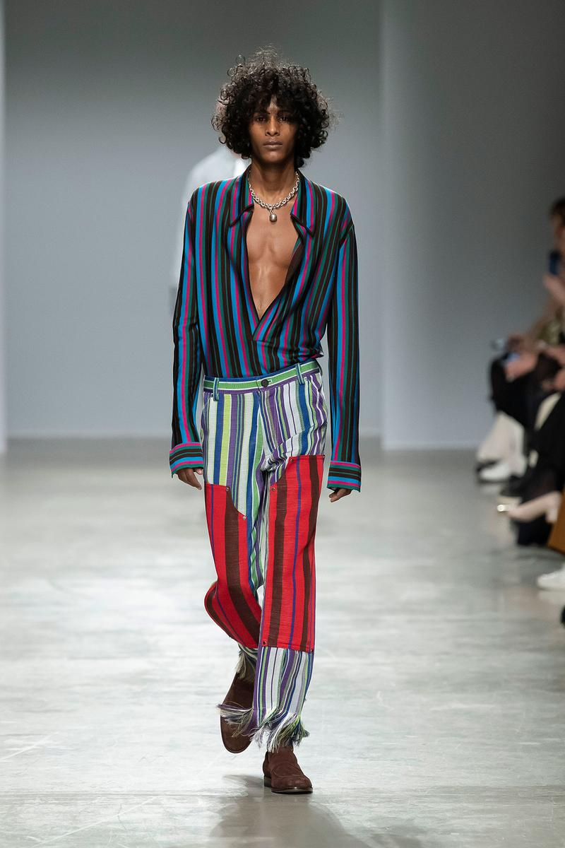 Kenneth Ize Fall/Winter 2020 Collection Runway Show Shirt Pants